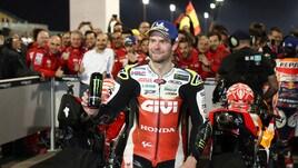 MotoGp Qatar, Crutchlow: «Felice di essere tornato a lottare»