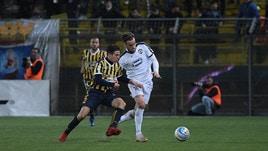 Serie C, la Juve Stabia rallenta nel derby: 2-2 con la Cavese