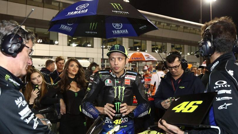 MotoGp Qatar, Rossi: «Siamo al livello dello scorso anno»
