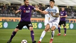 Serie A Fiorentina-Lazio 1-1, il tabellino
