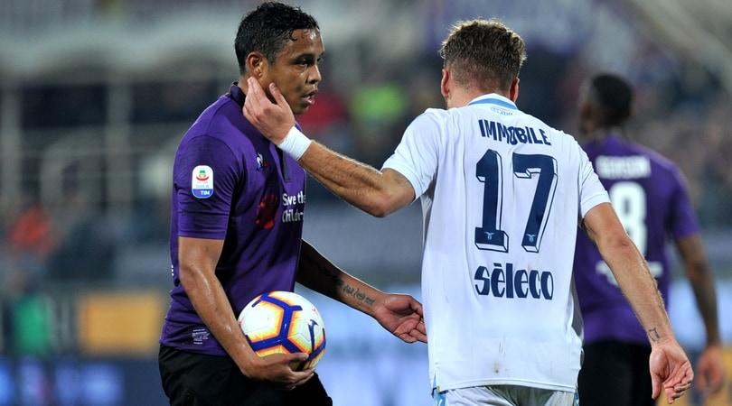 Fiorentina-Lazio 1-1: Muriel risponde a Immobile