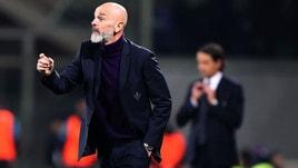 Serie A Fiorentina, Pioli: «Classifica? Non è il momento di guardarla»