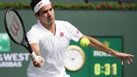 Tennis, Indian Wells: Federer e Nadal facile, si ritira Serena