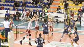 Volley: A2 Maschile, Girone Blu, la Materdomini.it sgambetta Piacenza