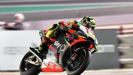 MotoGp Aprilia, Iannone: «Gara positiva, abbiamo lavorato bene»