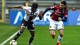 Serie A Genoa, Bessa: «Il gol che manca? Un fenomeno momentaneo»