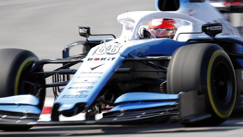 F1 Williams, Kubica: «Un nuovo debutto, sarà emozionante»