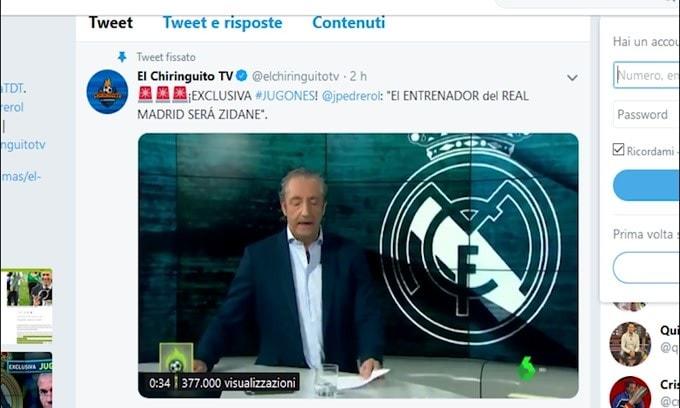 Incredibile: Zidane torna al Real Madrid