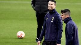 Juventus concentrata per l'Atletico: clima sereno in allenamento