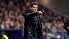 Simeone: «Sarà una battaglia, saremo pronti»
