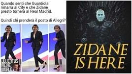 Zidane torna al Real Madrid: i social si scatenano