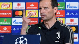Allegri sfida l'Atletico Madrid: «La Juve può ribaltare il risultato»
