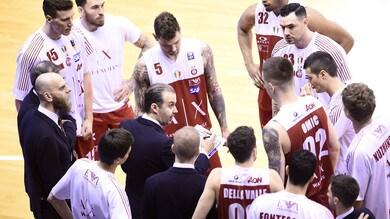 Basket Serie A, Milano batte Reggio Emilia 67-71