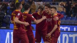 Serie A, Roma-Empoli 2-1: El Shaarawy e Schick, Ranieri vince la prima