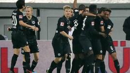 Bundesliga: Haller fa volare l'Eintracht e lancia la sfida all'Inter