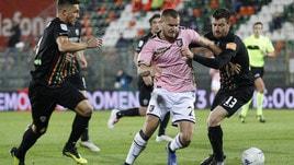 Serie B Venezia-Palermo 1-1, la pareggia Puscas nel finale