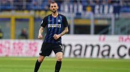 Inter, escluse lesioni muscolari per Brozovic. Miranda, operazione ok al naso