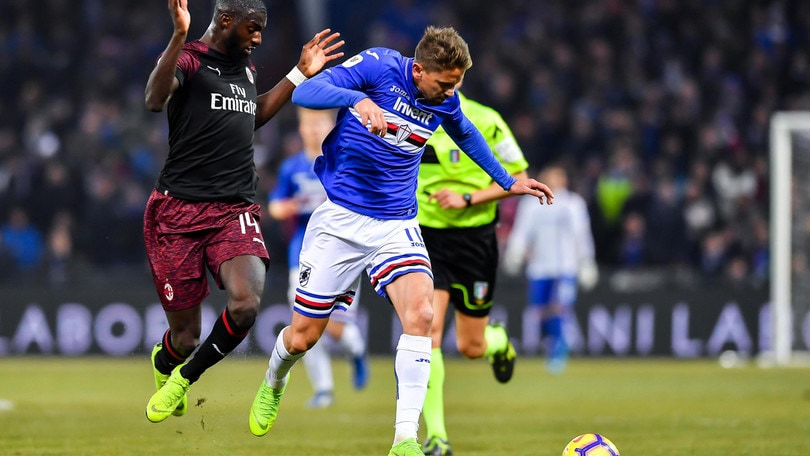 Serie A Sampdoria, terapie e lavoro specifico per Ramirez, Sala e Saponara