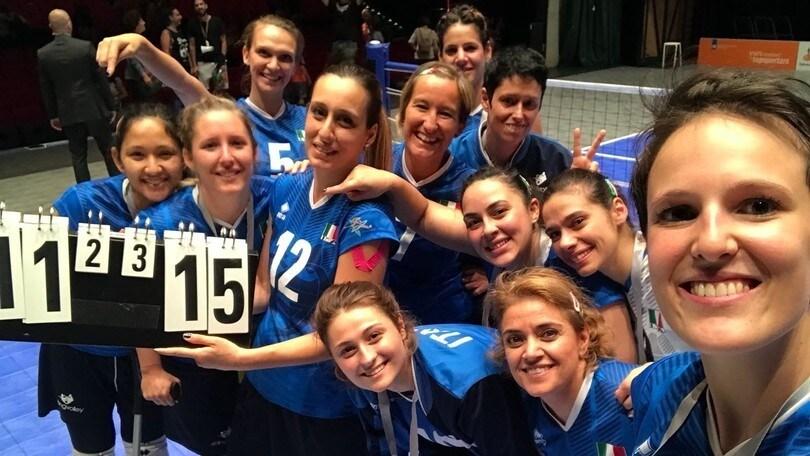 Sitting Volley: Alessandra Vitale ambasciatrice del Comitato Italiano Paralimpico