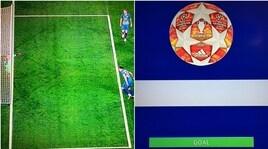 La goal-line technology convalida e Ronaldo fa doppietta: la fotosequenza