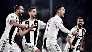 Champions League, Juventus immensa: Ronaldo sgancia la tripla