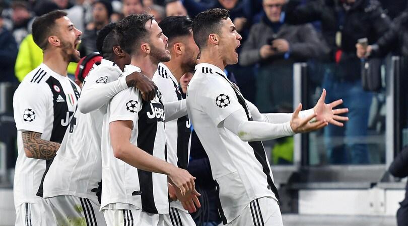 Champions, Juve-Atletico Madrid 3-0: Ronaldo show, tripletta!