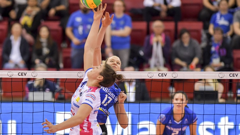 Volley: Champions Femminile, Novara scatenata a Stoccarda