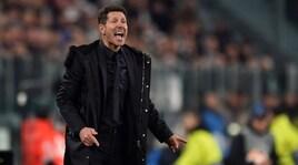 Simeone fa i complimenti alla Juve: «Sono stati più bravi di noi e hanno meritato la vittoria»