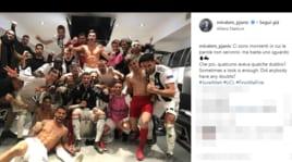 Le reazioni social dei giocatori della Juventus dopo la vittoria