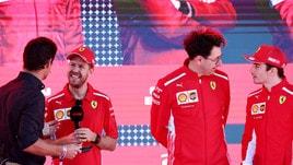 """F1, la Ferrari SF90 di Vettel si chiama """"Lina"""""""