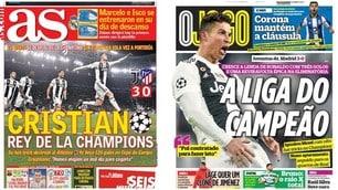 Juve, la stampa di tutto il mondo celebra Cristiano Ronaldo