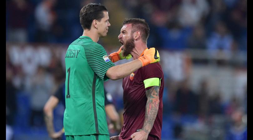 Szczesny:«Totti? Alla Roma il vero capitano era De Rossi»