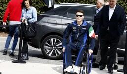 Manuel Bortuzzo ad Ostia:«Il mio obiettivo sono le Olimpiadi»