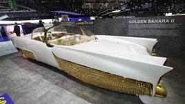 Golden Sahara II, le foto dell'iconica custom car restaurata