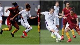 Coppa Italia Femminile: Roma-Fiorentina 1-1, si decide tutto nel finale