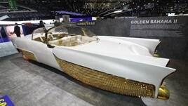 Golden Sahara II, il restyling Goodyear a Ginevra