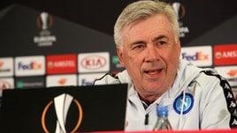 Napoli, Ancelotti: «Niente calcoli, qui per vincere»