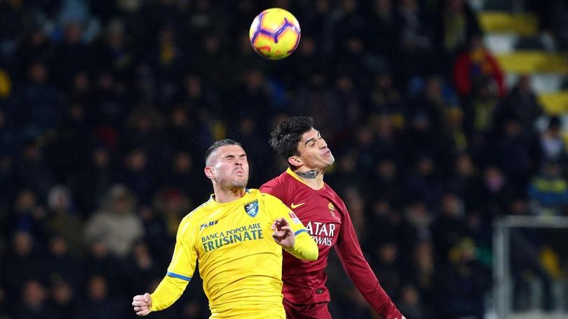 Serie A Frosinone, distrazione al ginocchio sinistro per Viviani