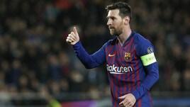 Champions League: manita al Lione, il Barcellona vola ai quarti