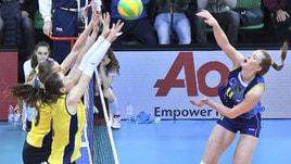 Volley: Champions Femminile, Scandicci si fa battere in casa dal Fenerbahce