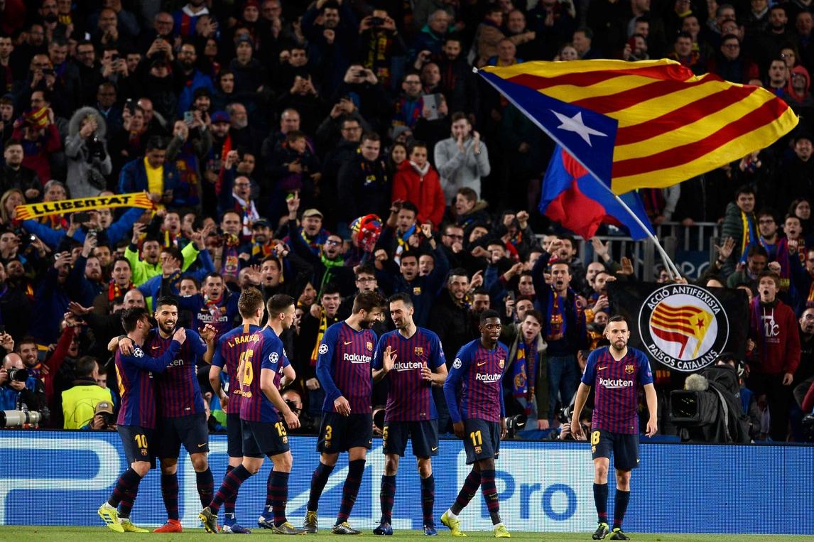 La formazione di Valverde travolge 5-1 il Lione nel ritorno degli ottavi di finale e passa al prossimo turno del torneo