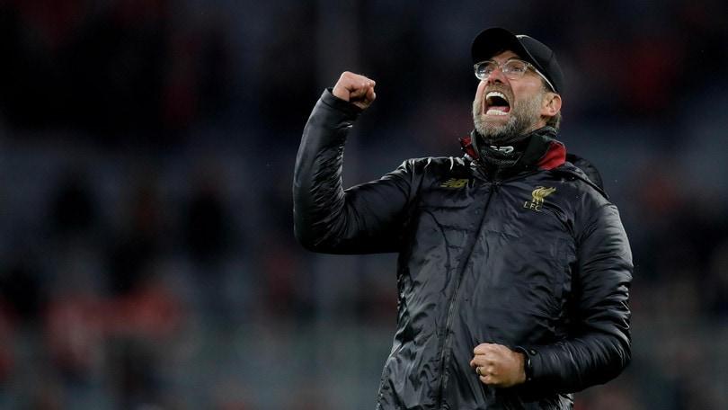 Champions, il Liverpool elimina il Bayern: la gioia di Klopp