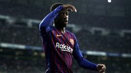 Barcellona: Dembélé ko, out 3-4 settimane