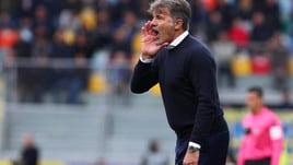 Serie A Frosinone, Baroni: «La squadra è viva, crediamo nella salvezza»