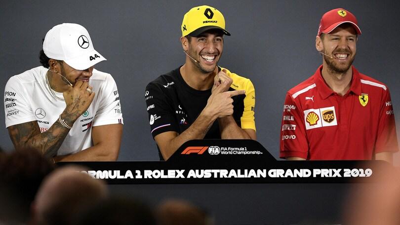 F1 Renault, Ricciardo: «Ora viene il bello»