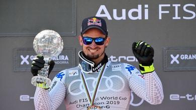 Sci, Dominik Paris re del SuperG! La Coppa del Mondo è sua