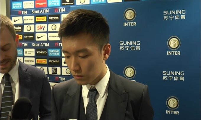 Zhang vuole cambiare il nome dello Jiangsu Suning in Jiangsu Inter