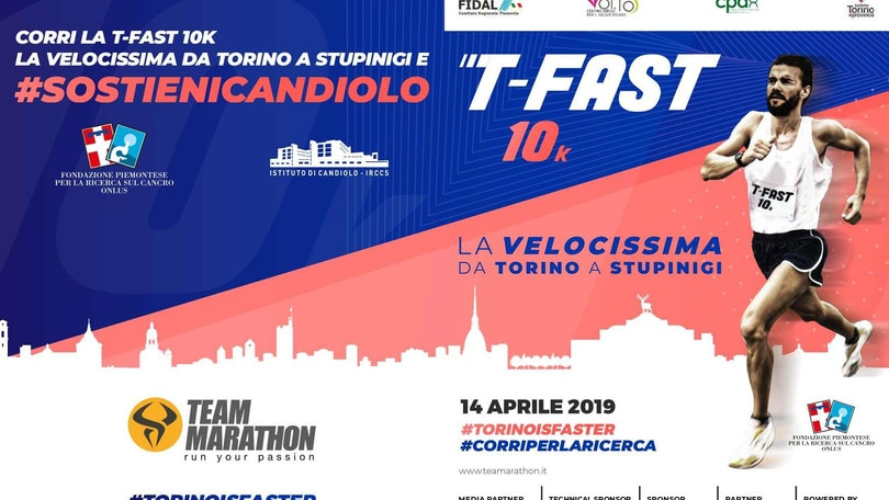 Il 2019 di Team Marathon a Torino parte con T-Fast!