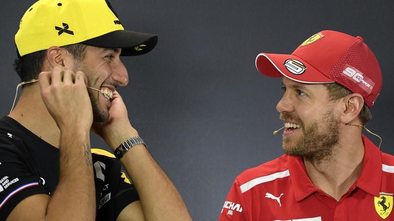 F1 al via: in Australia quote per Vettel