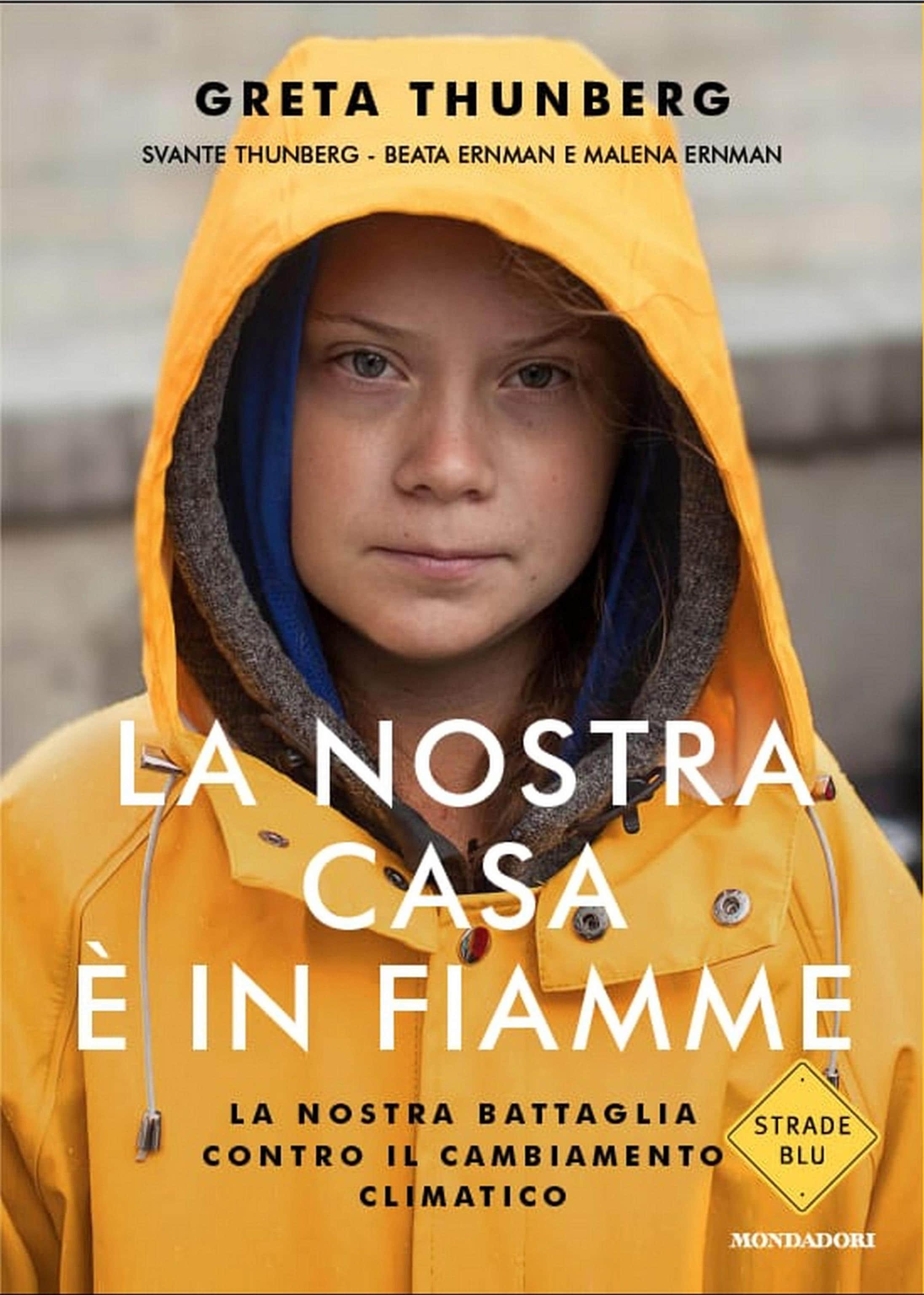 Arriva il libro di Greta Thunberg